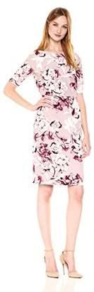Chetta B Women's Floral Midi Dress