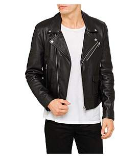 Paul Smith Leather Biker Jacket