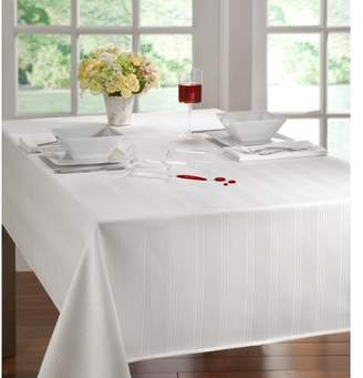 """Arlee Solid Color Microfiber Tablecloth 52"""" x 52"""" Fawn"""