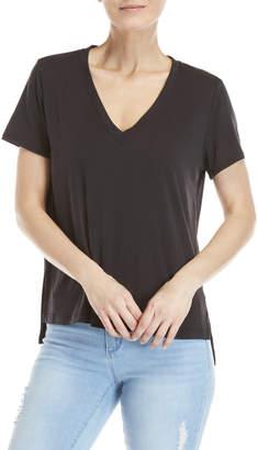 Lush V-Neck Short Sleeve Tee