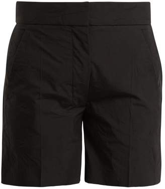 Joseph Windsor creased-effect cotton-blend shorts