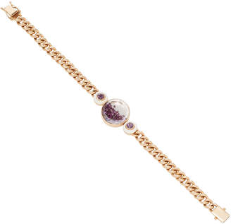 Moritz Glik 18K Gold Diamond And Stone Bracelet