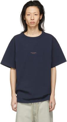 Acne Studios SSENSE Exclusive Navy Oversized Jaxon T-Shirt