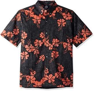 Reyn Spooner Men's 50th State Flower Spooner Kloth Classic Fit Hawaiian Shirt