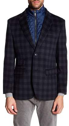 Enzo Carlo Wool Blend Jacket