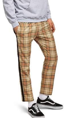 Topman Check Jogger Pants