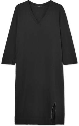 Bassike Organic Cotton-jersey Dress - Black