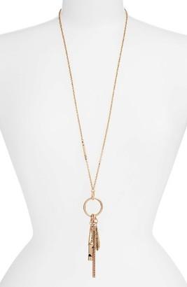 Women's Treasure & Bond Long Charm Pendant Necklace $45 thestylecure.com