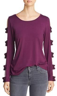 Love Scarlett Cutout-Sleeve Top