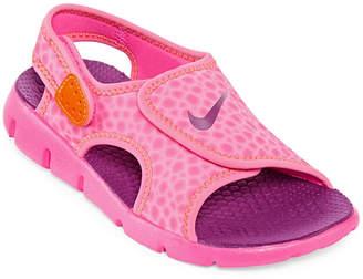 Nike Sunray Adjustable Girls Sandals - Little Kids
