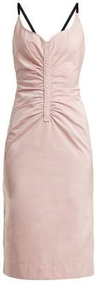 No.21 NO. 21 Ruched-bodice dress