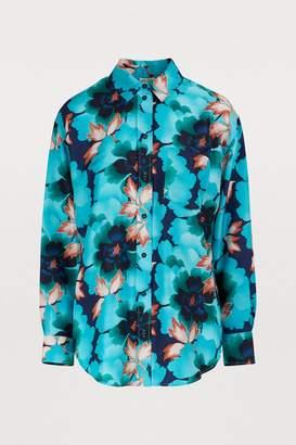 Kenzo Printed flowers shirt