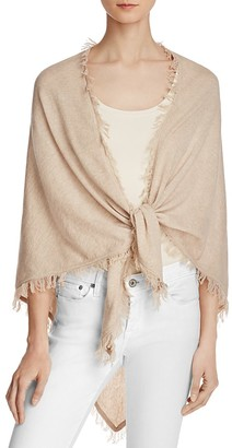 Minnie Rose Cashmere Shawl $101 thestylecure.com