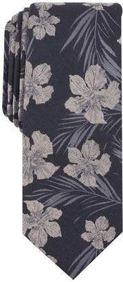 Bar III Men's Heli Floral Skinny Tie