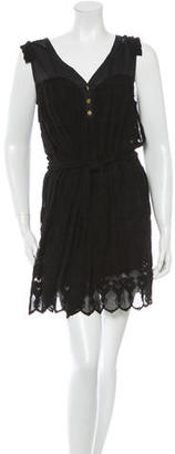 Alice by Temperley Sleeveless Lace Dress $95 thestylecure.com