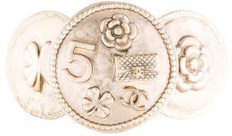 ChanelChanel Logo Medallion Cuff