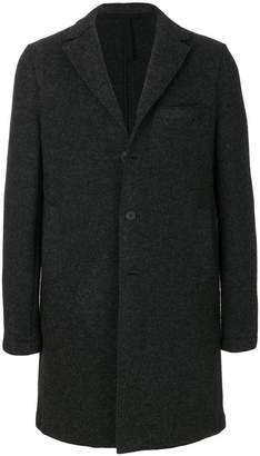 Harris Wharf London slim-fit tailored coat