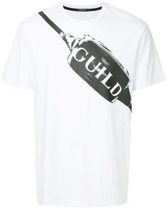 GUILD PRIME cross-body bag print T-shirt