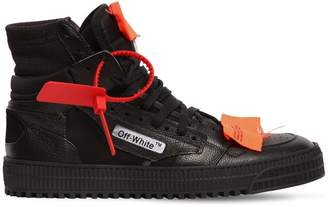 Off-White Low 3.0 Leather High Top Sneakers