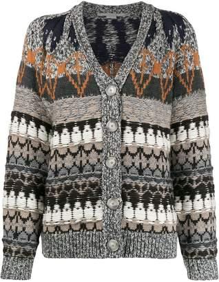 Stella McCartney knitted patterned cardigan
