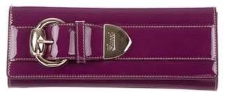 Gucci Patent Romy Clutch