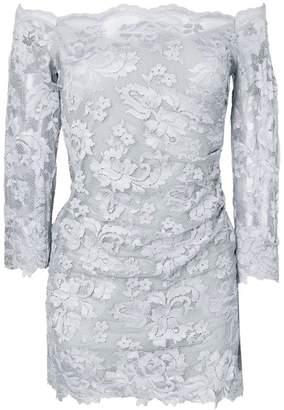 Olvi ́S off-shoulder floral lace top