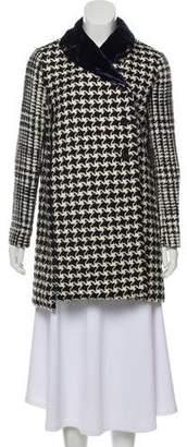Christian Dior Wool Knit Short Coat