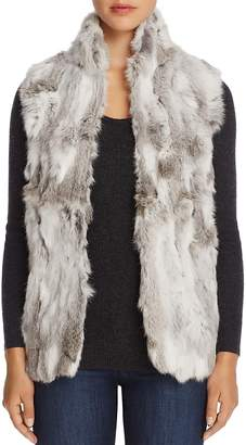 Adrienne Landau Rabbit Fur Vest - 100% Exclusive