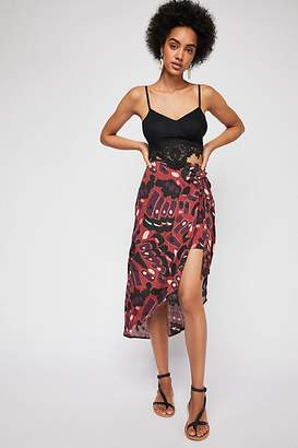 Sizzling Summer Midi Skirt