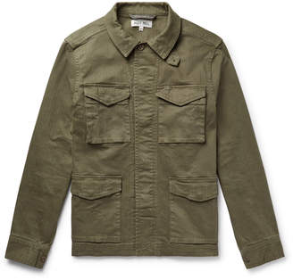 Alex Mill Herringbone Cotton-Blend Jacket - Men - Green