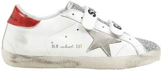 Golden Goose Superstar Old School Glitter Low-Top Sneakers