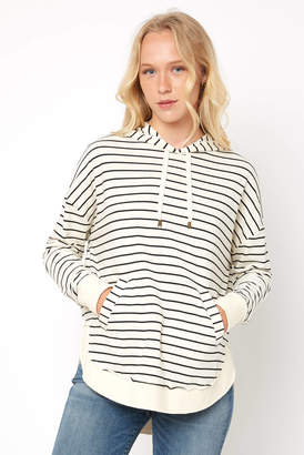 Z Supply Dakota Stripe Hooded Pullover