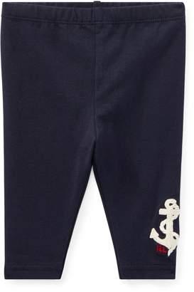 Ralph Lauren Nautical Embroidered Legging