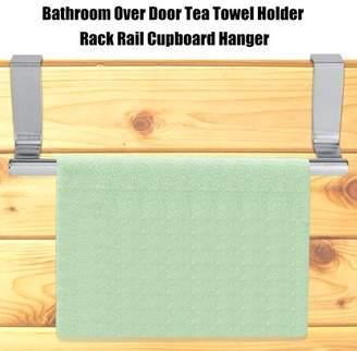 Hilitand Cabinet Drawer Towel Hanging Rack Storage Holder Over Door Hanger Kitchen Bathroom, Towel hanger, Cabinet holder