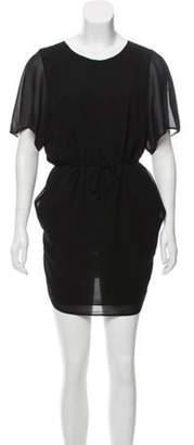 Acne Studios Moreau Crepe Dress Black Moreau Crepe Dress