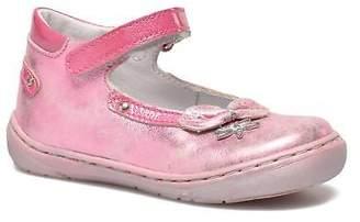 Little Mary Kids's Vanda Strap Ballet Pumps in Pink