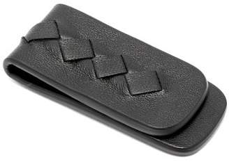 Bottega Veneta - Magnetic Leather Money Clip - Mens - Black