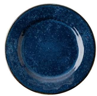 Juliska Puro Cobalt Ceramic Salad Plate