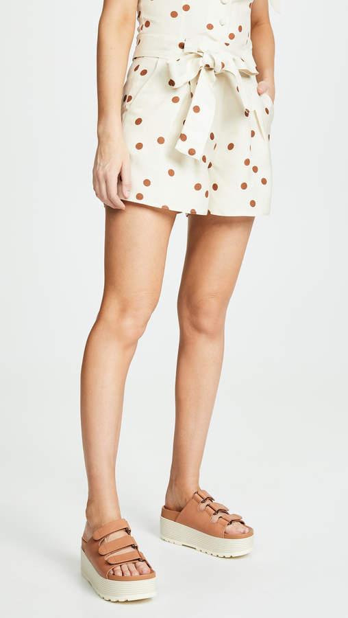 Moon River Polka Dot Shorts