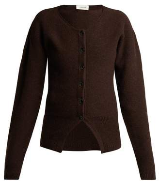 Lemaire Wool Cardigan - Womens - Brown