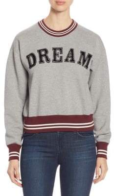 N°21 Dream Crewneck Cotton Sweatshirt