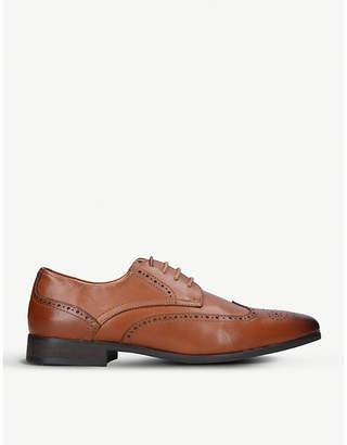 Kurt Geiger London Basset leather Derby brogues