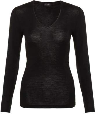 Hanro Wool and Silk Long Sleeve Top