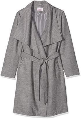 Sheego Women's Kurzmantel mit großem Kragen Coat