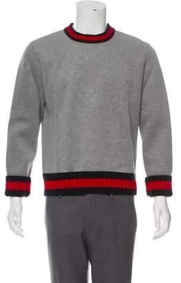 Gucci Web Trim Sweater