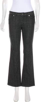 Michael Kors Low-Rise Straight-Leg Jeans