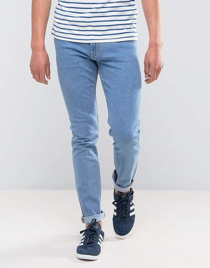 Weekday Friday Skinny Fit Jeans Cash