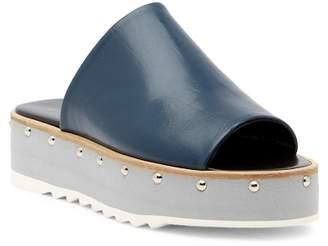 Charles David Float Leather Platform Sandal