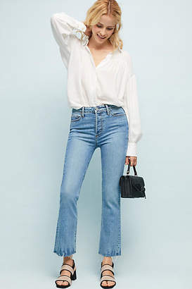 Paige Collette High-Rise Cropped Flare Jeans
