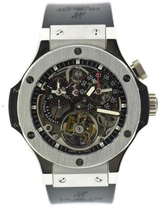 Hublot Bigger Bang 308.TX.130.RX Platinum & Rubber 44mm Mens Watch $275,900 thestylecure.com